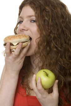 Free Fastfood Or Apple Royalty Free Stock Photo - 8414335