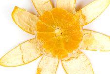 Free Orange With Peel Stock Images - 8414474