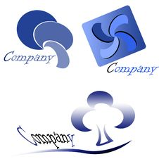 Company Logo Pack Royalty Free Stock Image