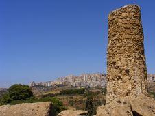 Free Agrigento Sicily-greek Temple Ruins Stock Photos - 8415193