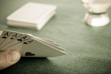Free Four Aces Stock Images - 8415254