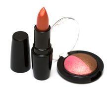 Free Lipstick And Eye-shadows Stock Photos - 8415273
