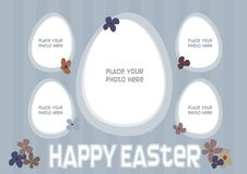 Free Easter Egg Photo Frame Royalty Free Stock Photography - 8415677