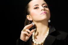 Free Attractive Businesswoman Royalty Free Stock Photo - 8416085