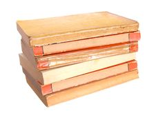 Free Old Paperback Books Royalty Free Stock Photo - 8416275