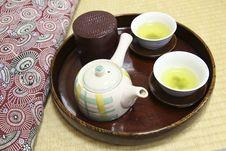 Free Japanese Tea Royalty Free Stock Photos - 8416488