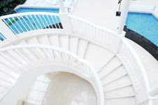 Free The Curving Staircase Stock Image - 8417041