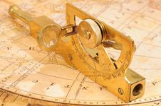 Free Old-fashioned Navigation Device Stock Image - 8417421