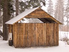 Free Wooden Cabin Stock Photo - 8417490