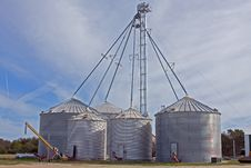 Free Silos Royalty Free Stock Images - 8417849
