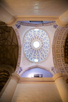 Free White And Violet Roof Church Stock Photos - 8417883
