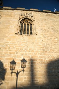 Free Window And Lamppost Shadow Royalty Free Stock Images - 8417919