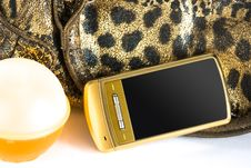 Free Perfume And Mobile Phone Royalty Free Stock Image - 8418516