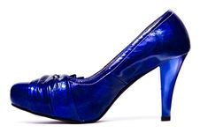 Free Womanish Shoes Isolated Royalty Free Stock Photos - 8418628