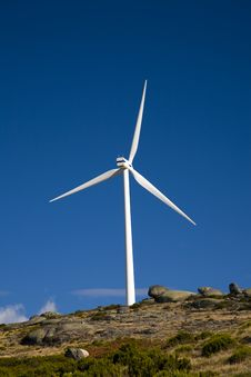 Free Wind Energy Turbine Stock Photos - 8418973