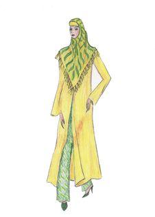 Free Beautiful Illustration Of Moslem S Fashion Stock Photography - 8419282