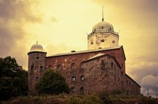 Free Old Swedish Fortress At Wiborg City Royalty Free Stock Photo - 8419375