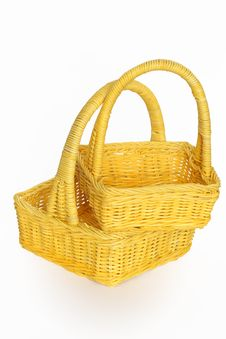 Free Wicker Baskets Stock Image - 8419431