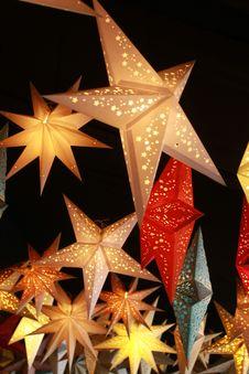 Free Yellow Stars Royalty Free Stock Photo - 8419445