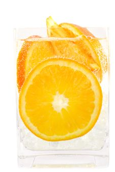 Free Refreshing Orange Soda Royalty Free Stock Images - 8419449