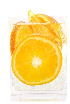 Refreshing Orange Soda Royalty Free Stock Images