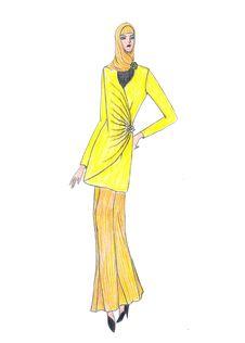 Free Beautiful Illustration Of Moslem S Fashion Stock Images - 8419474