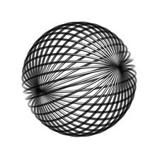 Free Chaos Wire Ball Stock Photography - 8419482