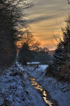 Free Winter Scenery Stock Image - 8419511