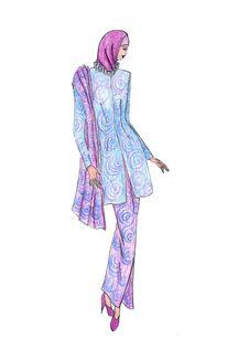 Free Beautiful Illustration Of Moslem S Fashion Royalty Free Stock Photos - 8419548