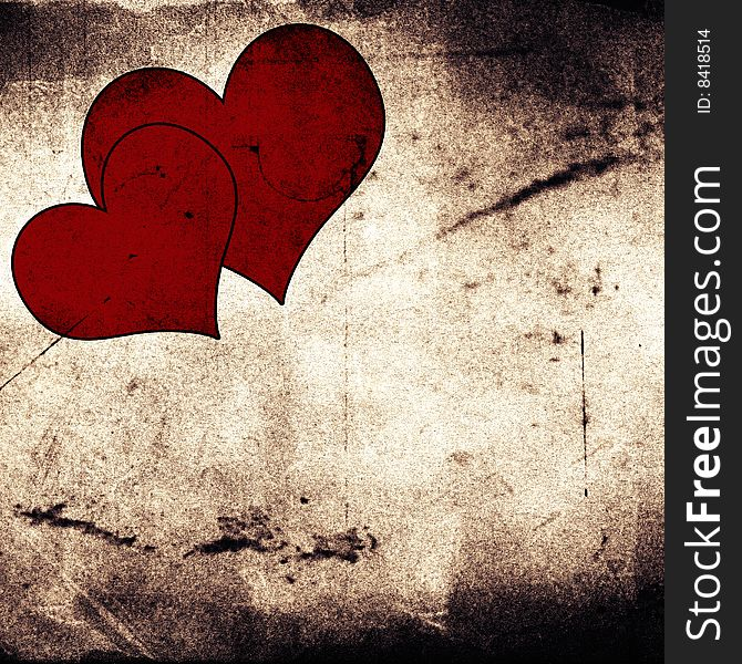 Get Vintage Backgrounds In Red: Love Collection PNG