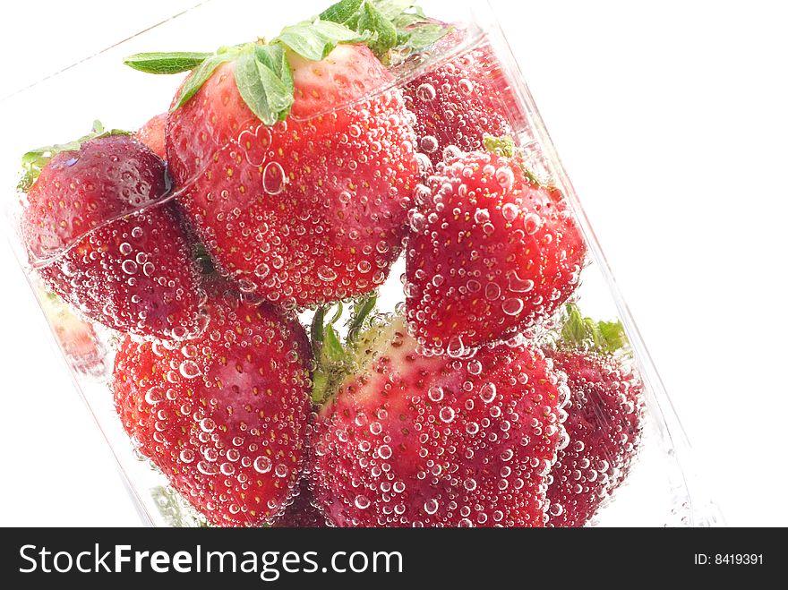 Refreshing Strawberry Soda