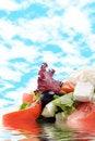 Free Greek Salad Royalty Free Stock Photography - 8428257