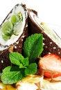 Free Chocolate Pancakes Stock Image - 8428531