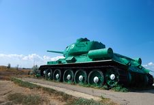 Free Tank In An Attack Stock Photos - 8420233