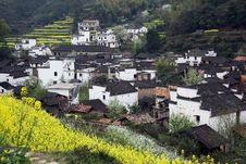Free Chinese Village Royalty Free Stock Photography - 8420507