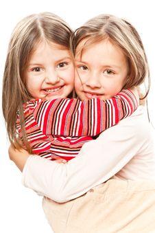 Free Little Girls Stock Photo - 8421340