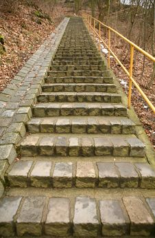 Free Stoned Stairs Stock Photo - 8421410