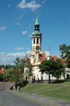 Loretta Church In Prague Royalty Free Stock Image