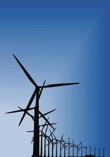 Free Wind Power Stock Images - 8421934