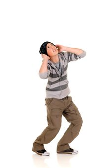 Handsome Hip Hop Youngster Royalty Free Stock Photos