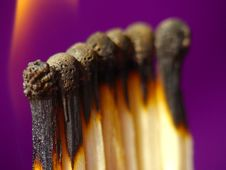 Matches Fire Stock Photos