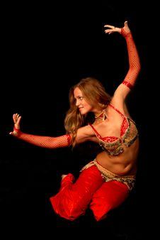 Free Bellydancer Stock Photography - 8422552