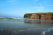 Cliffs At Ballybunion Stock Image