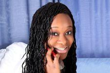 Free Afro-american Woman Stock Photo - 8423090