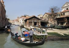 Free Canal In Venice Stock Photos - 8423603