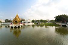 Free Bang Pa-In Palace, Bangkok Royalty Free Stock Photo - 8423735