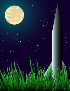 Free A Rocket On The Grass Stock Photos - 8424193