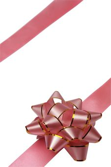 Free Gift Packaging With Ribbons And Bow Royalty Free Stock Image - 8424246