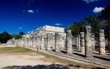 Free The Temples Of Chichen Itza Temple Stock Image - 8425071