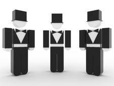 Free Gentlemen Royalty Free Stock Image - 8425156